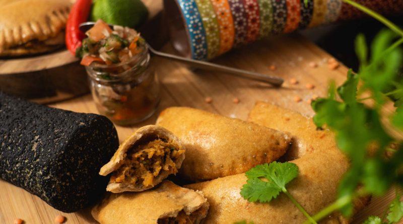 Capsicum and Eggplant Empanadas