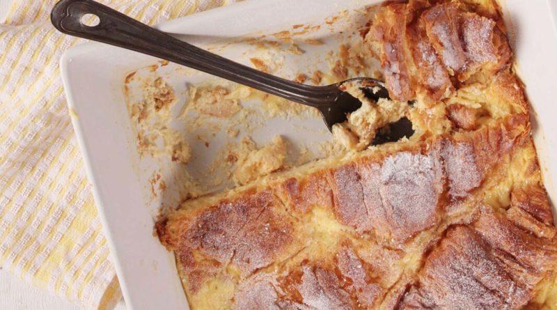 Pudding Croissant recipe