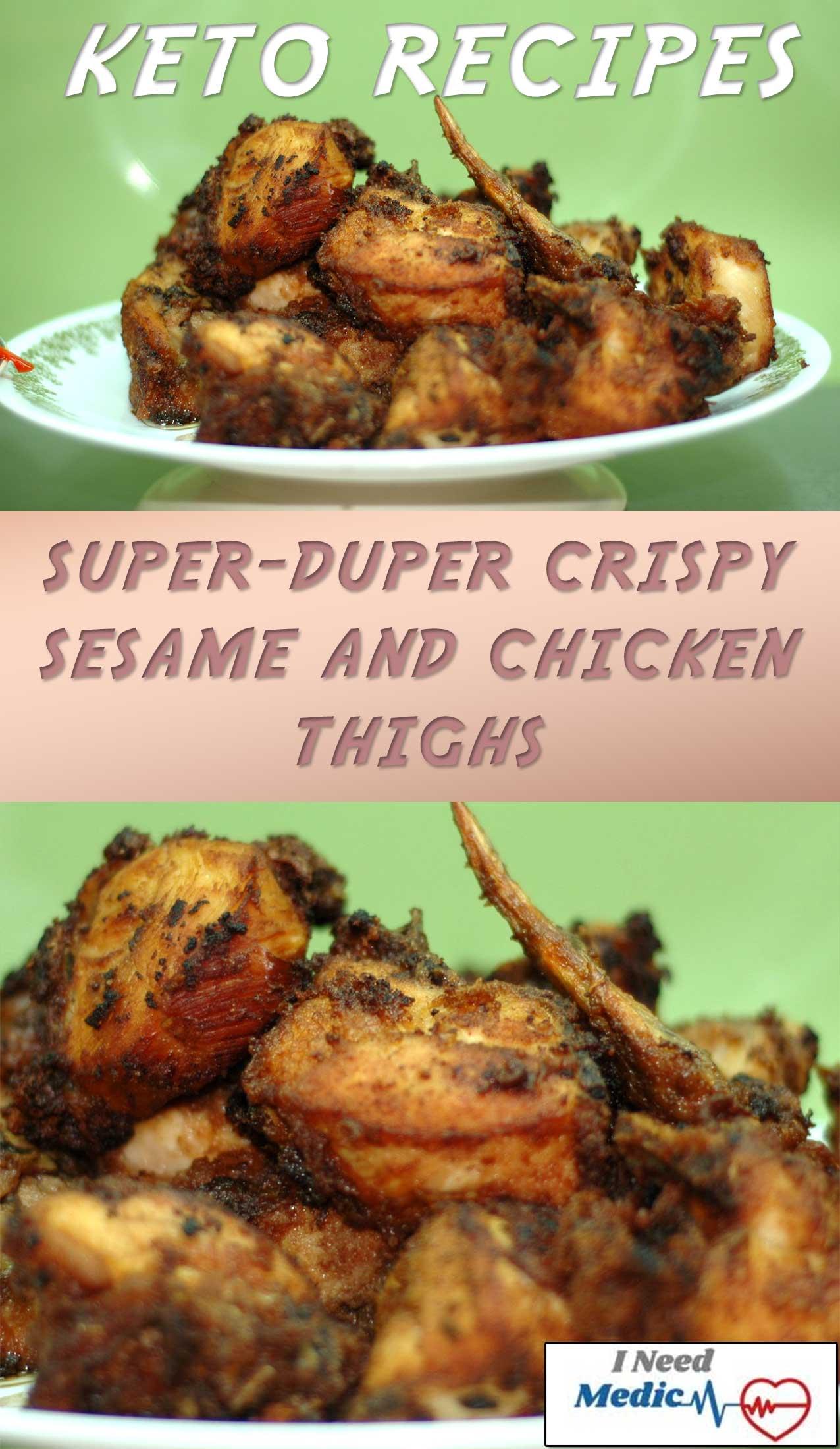 chicken thighs keto recipe