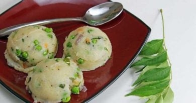 Traditional Rava Upma Recipe