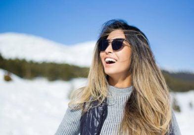 smile girl in canada