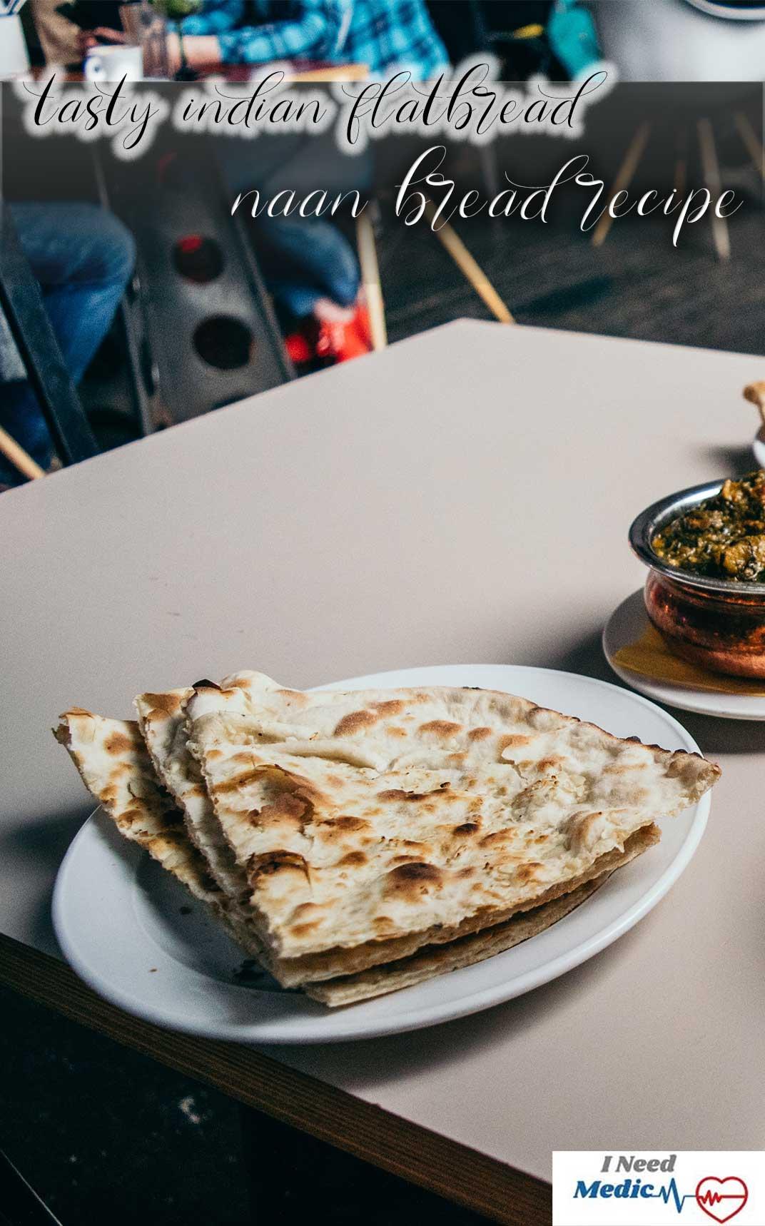 india bread recipe, naan bread