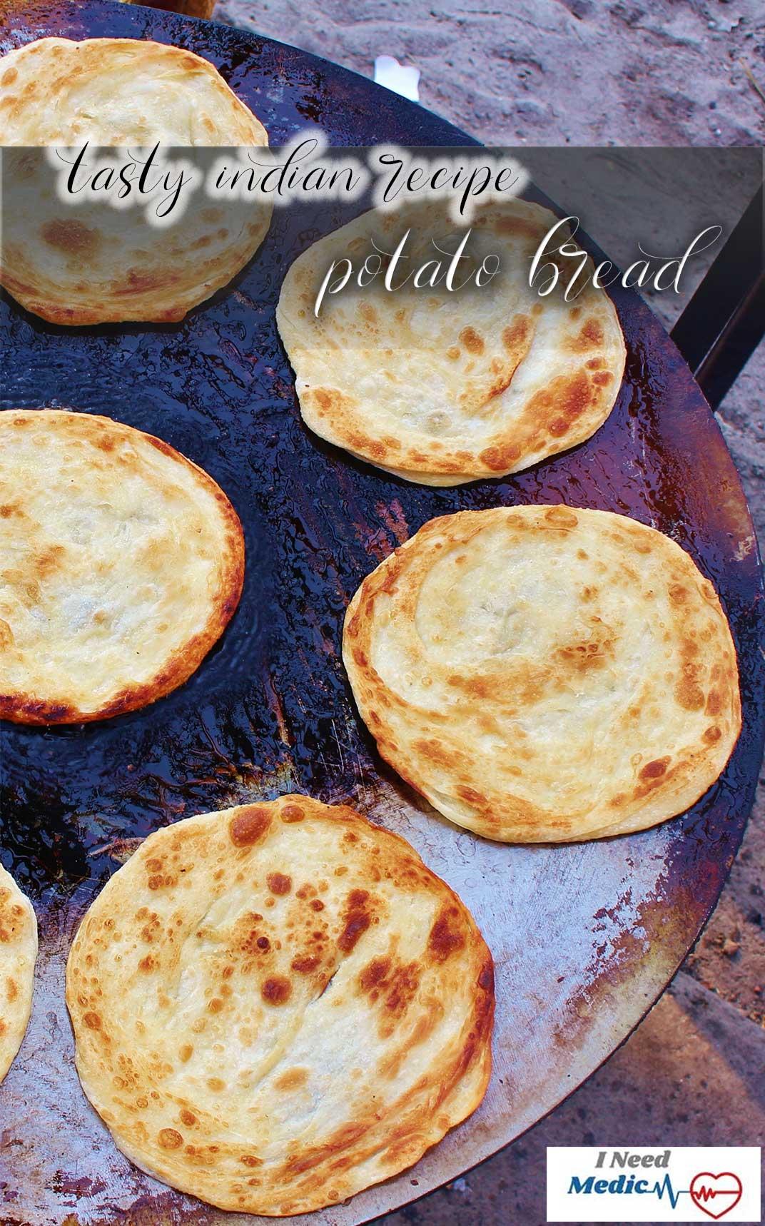 flatbread recipe potato stuffing