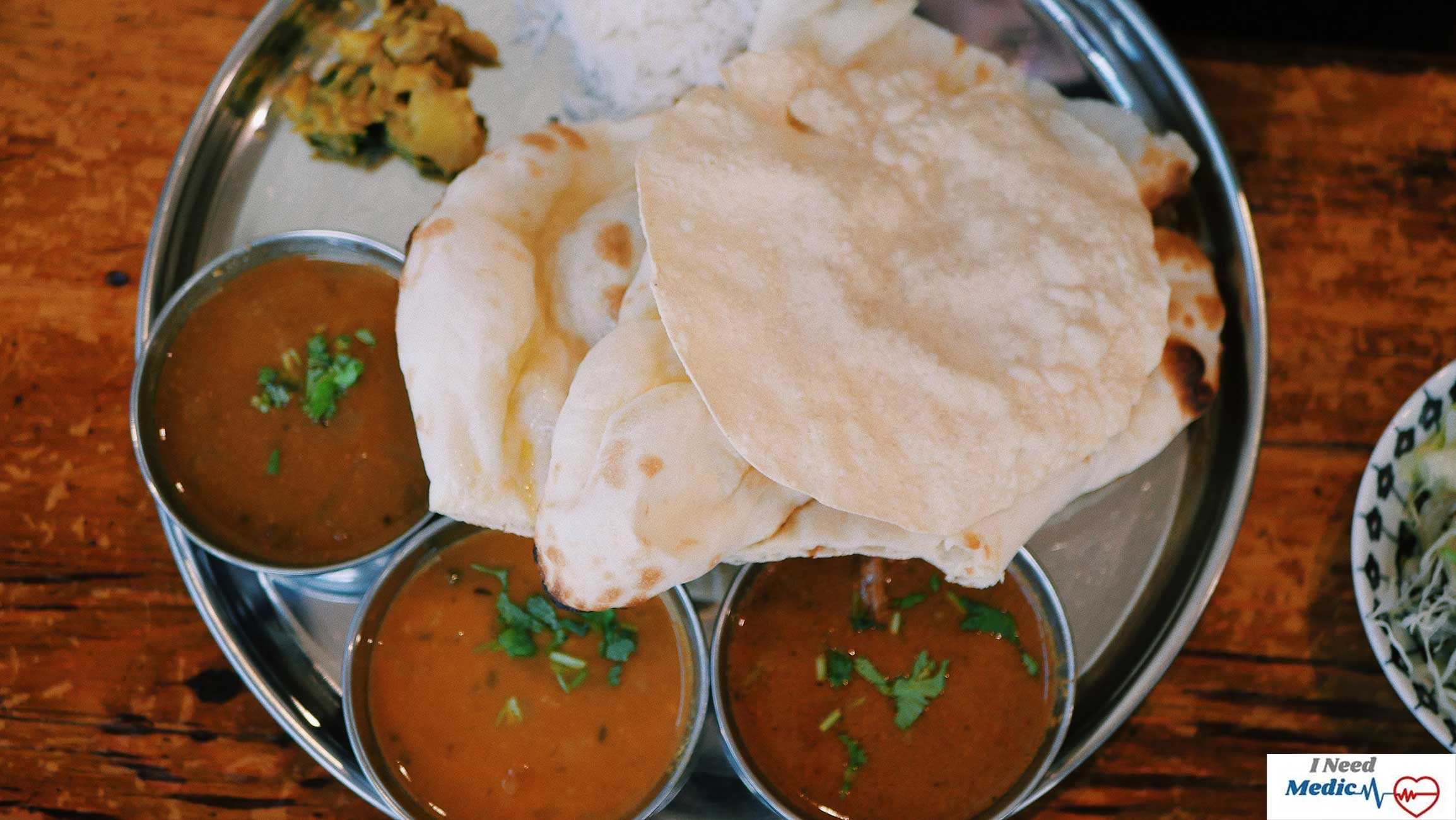 chole bhature, indian food recipe