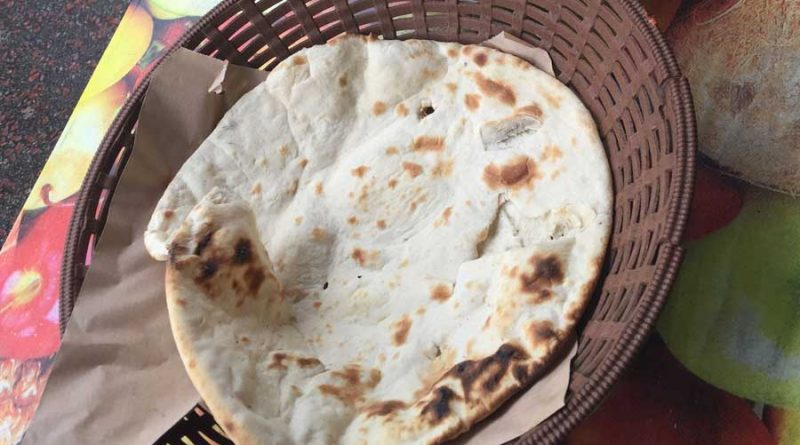 naan bread, indian flatbread naan